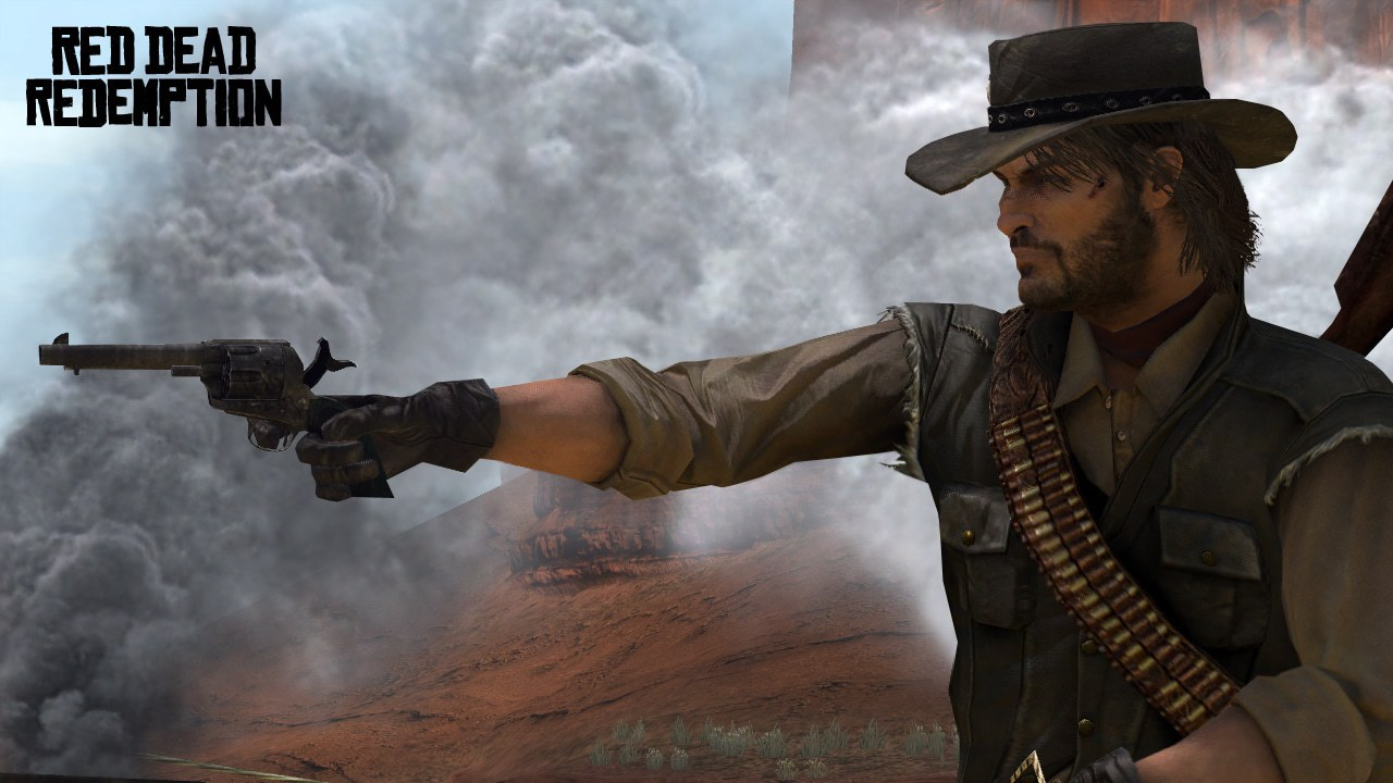 screenshot marston red dead redemption