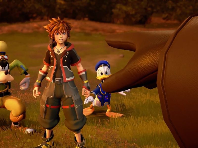 Kingdom Hearts III Sora Donald Dingo