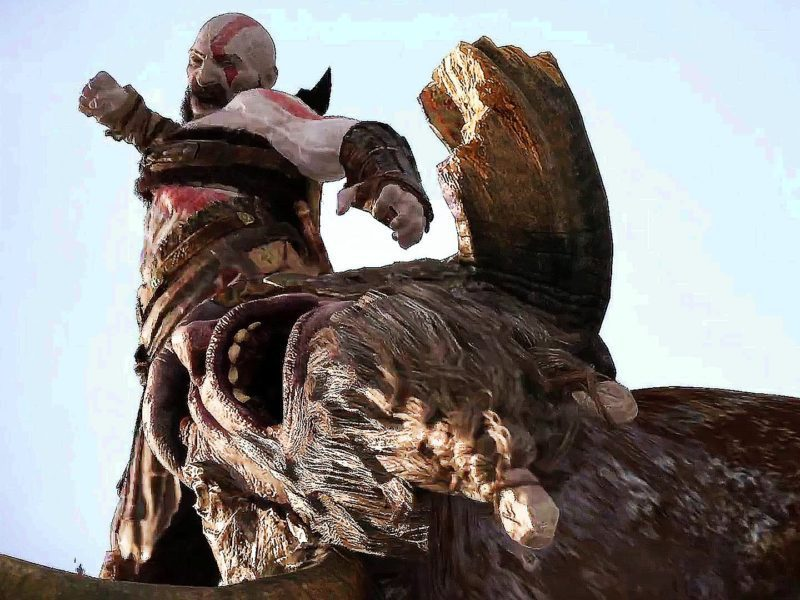 kratos combat home