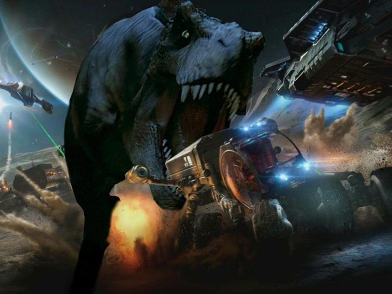 Jurassic World gamescom