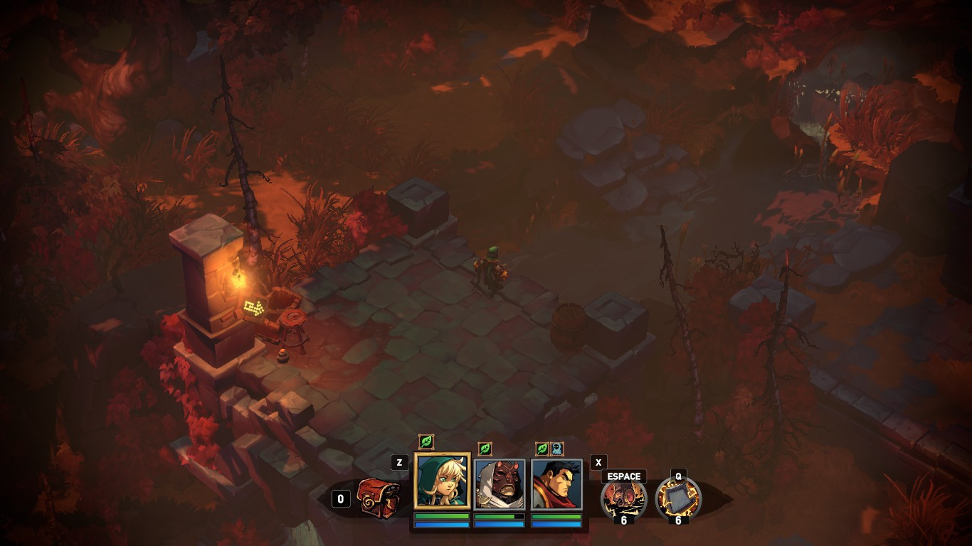 battle chasers exploration