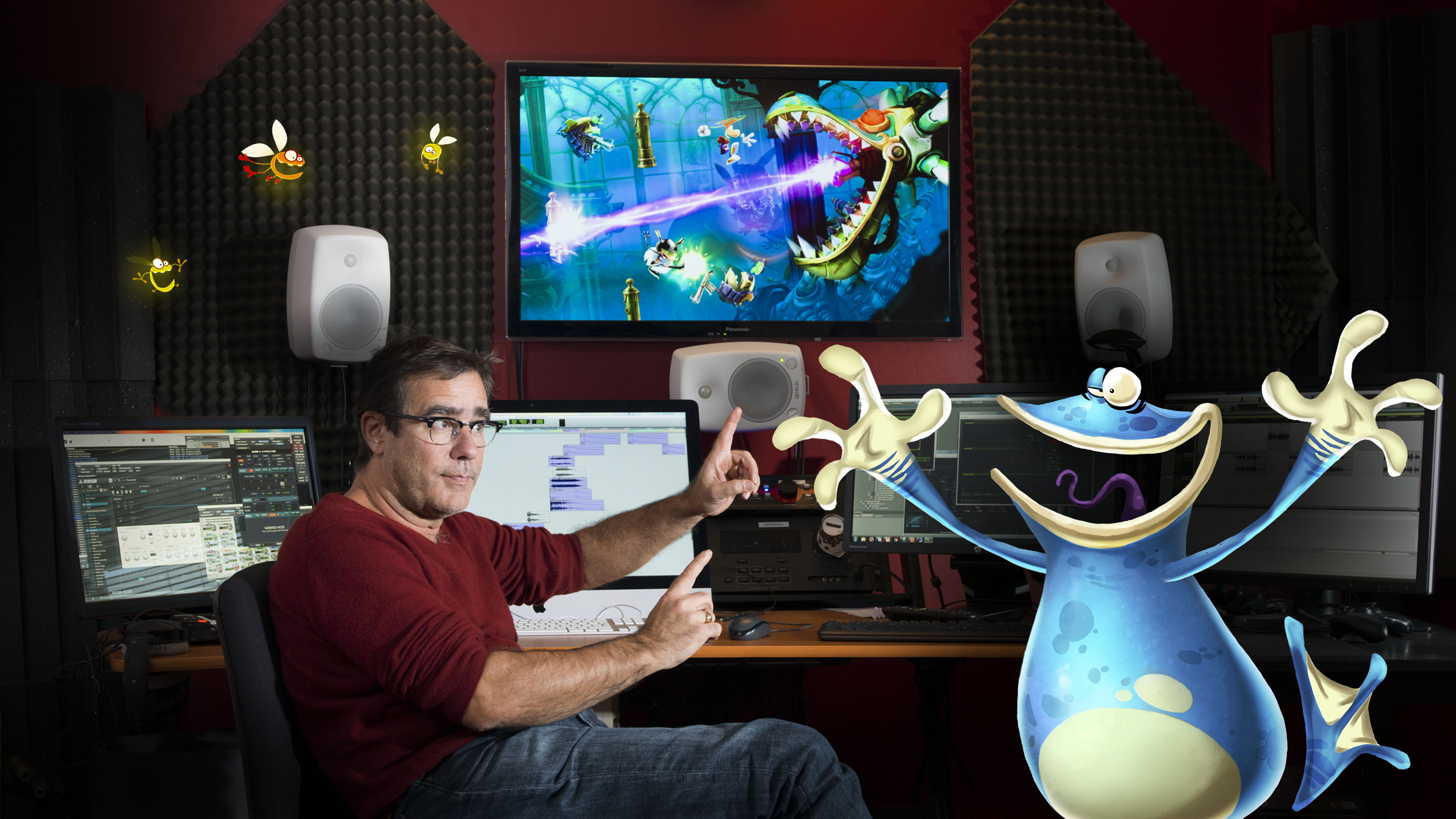 Christophe Héral sur Rayman Legends