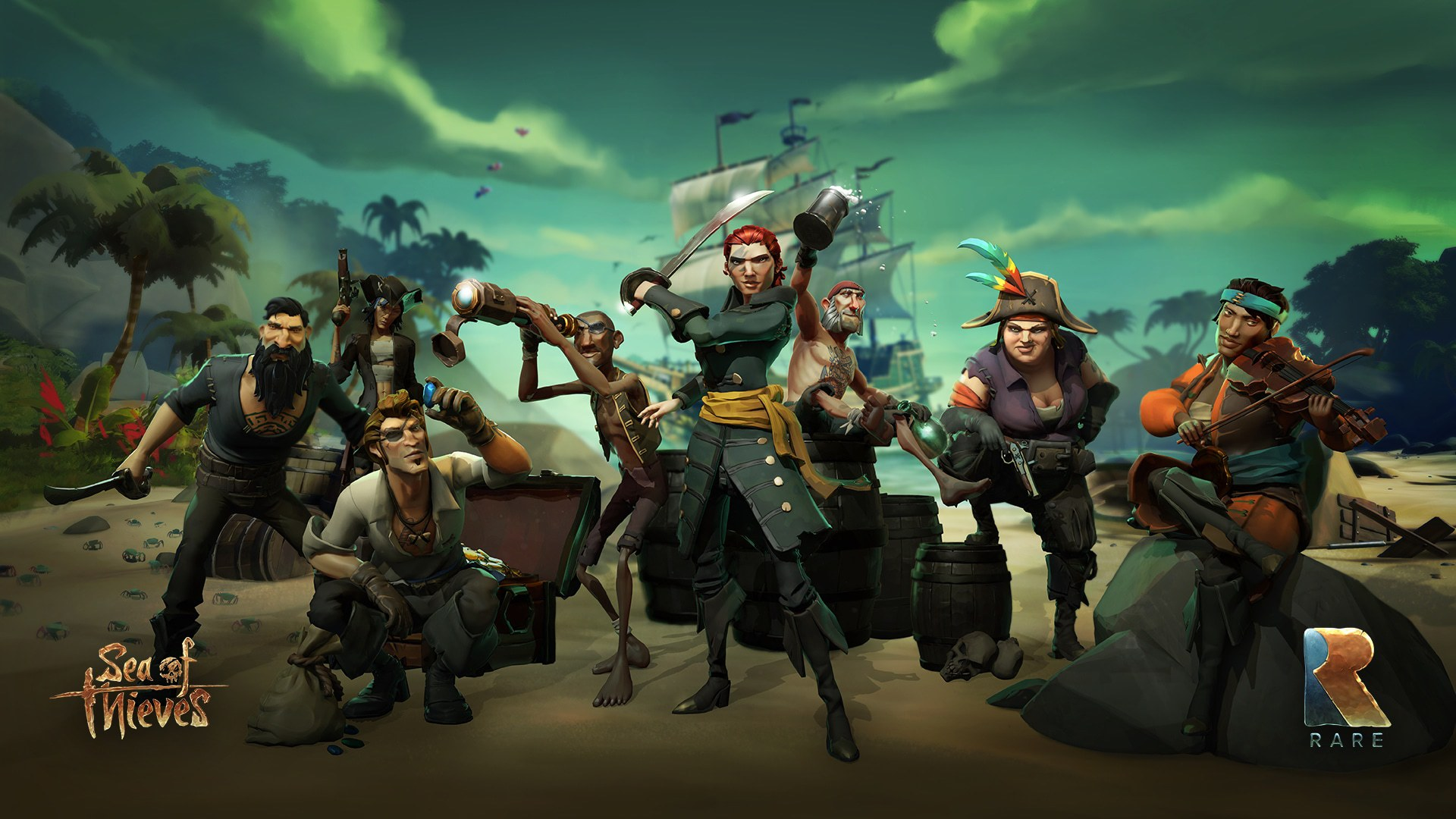 sea of thieves code des pirates