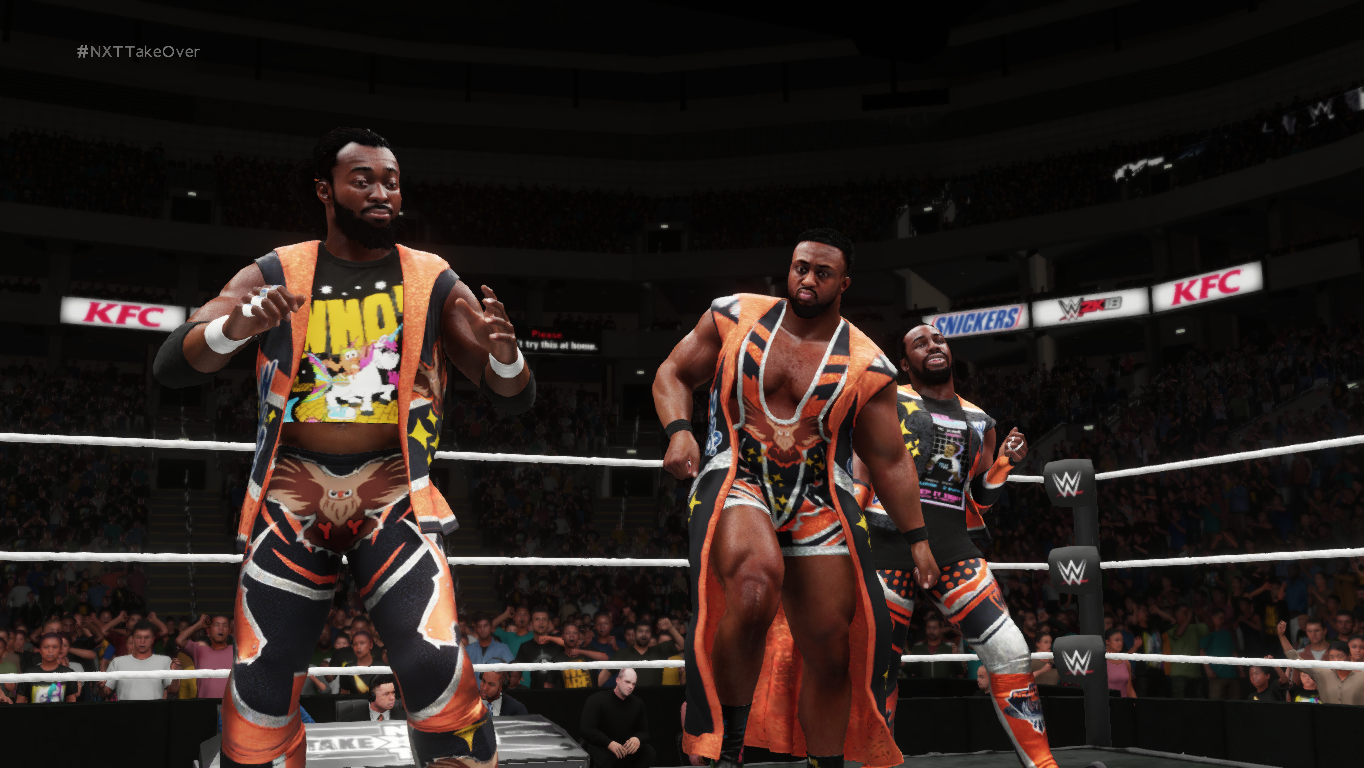 wwe 2k18 the new day