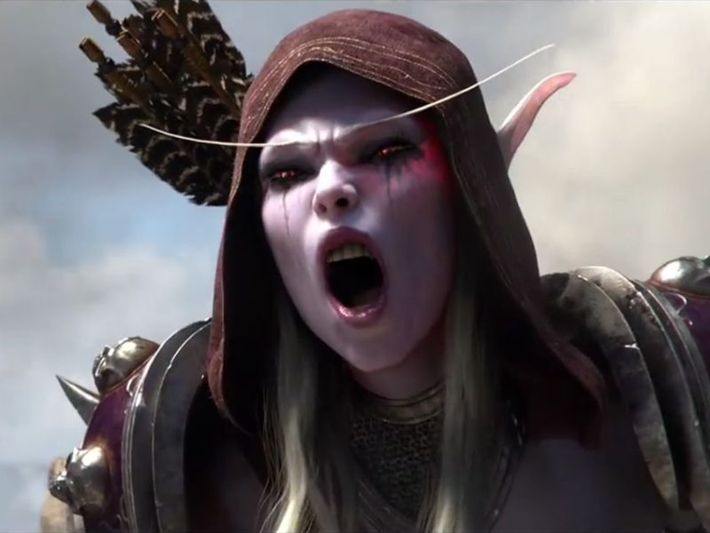 sylvanas pvp wow