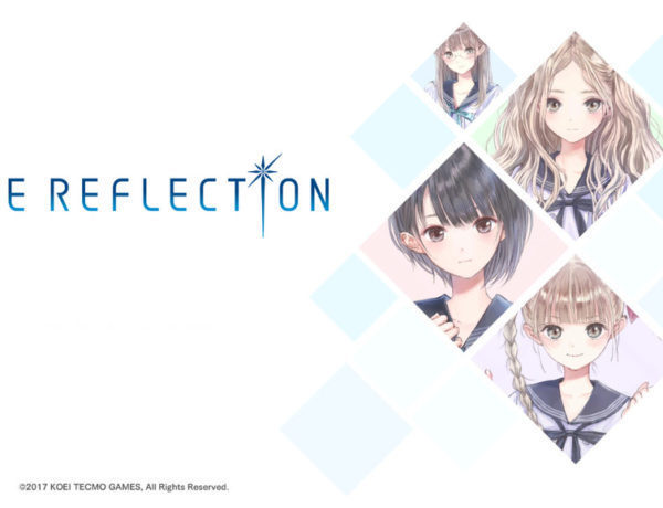 Blue Reflection Titre Screen