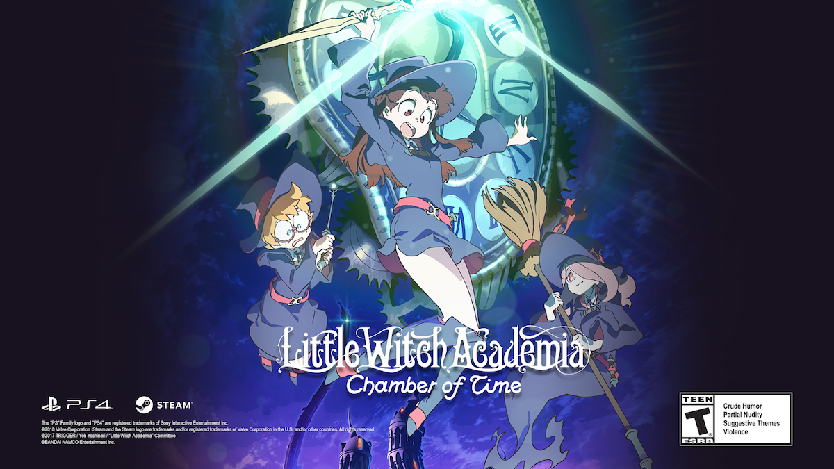 Little witch adacemia chamber of time
